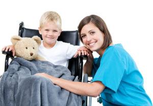 Няня ребенку инвалиду